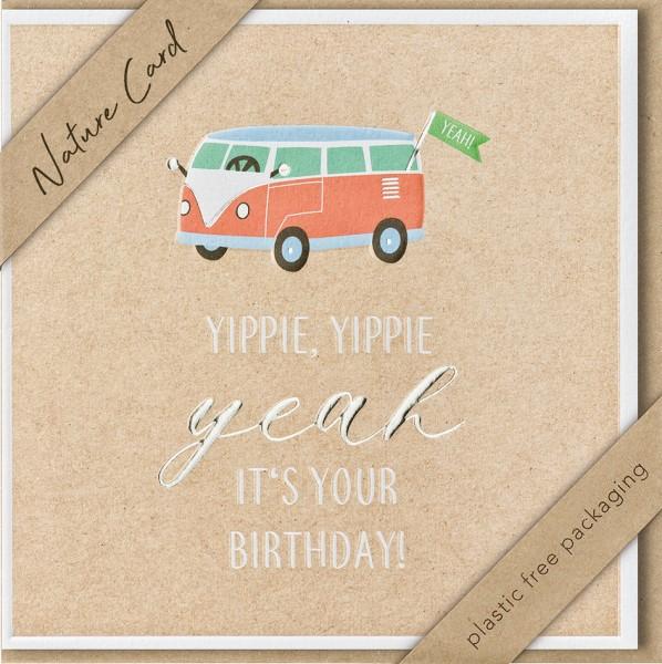 Doppelkarte Bulli, Yippie, Yippie Yeah NC