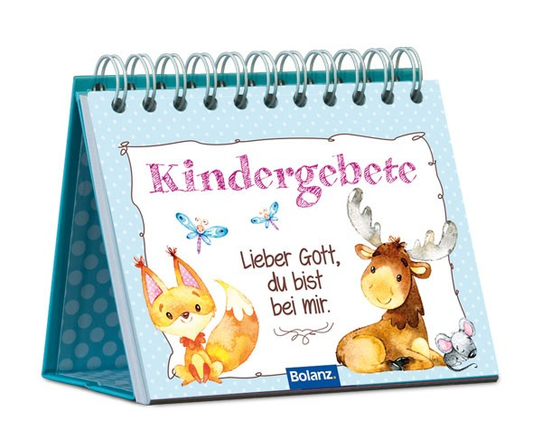 Postkartenaufstellbuch Kindergebete