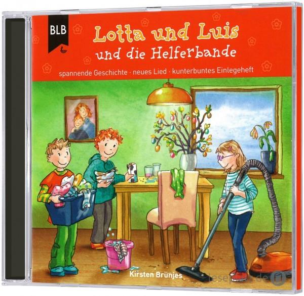 Lotta und Luis und die Helferbande (Hörbuch-CD)