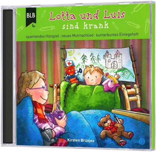 Lotta und Luis sind krank (Hörbuch-CD)