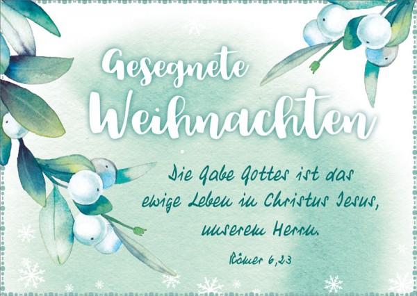 Postkarte Die Gabe Gottes BW