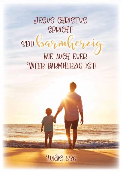 Postkarte JL Vater & Sohn