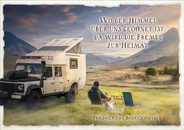 Postkarte Roverurlaub