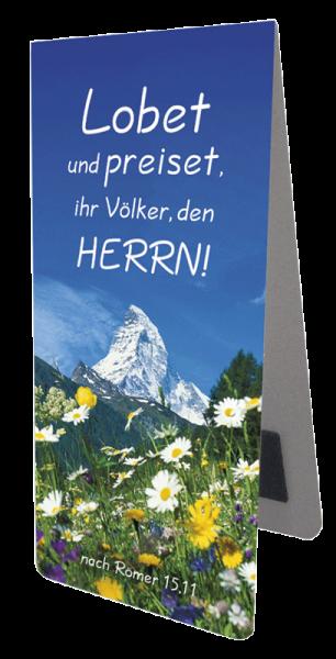 Magnetlesezeichen Matterhorn