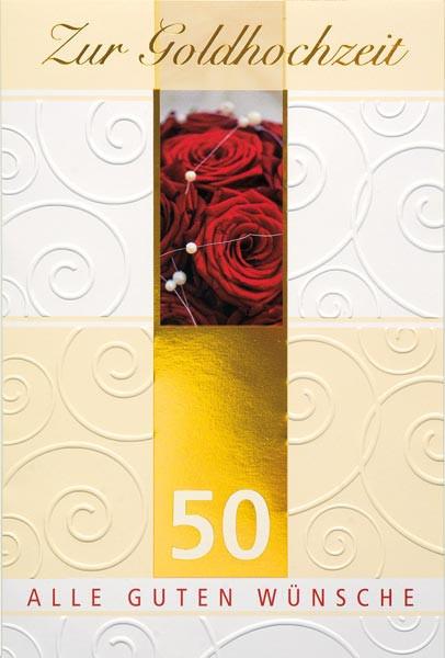 DK Goldhochzeit - Rote Rosen