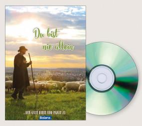Grußkarte mit DVD Du bist nicht allein
