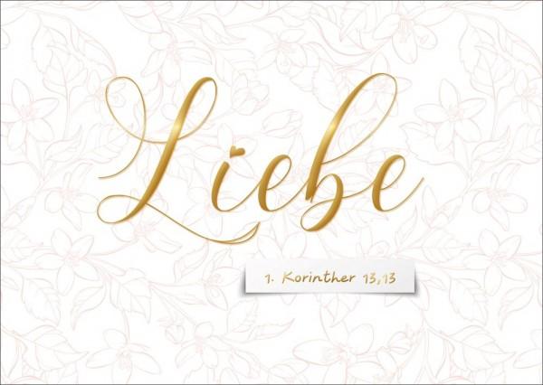Postkarte Liebe GE