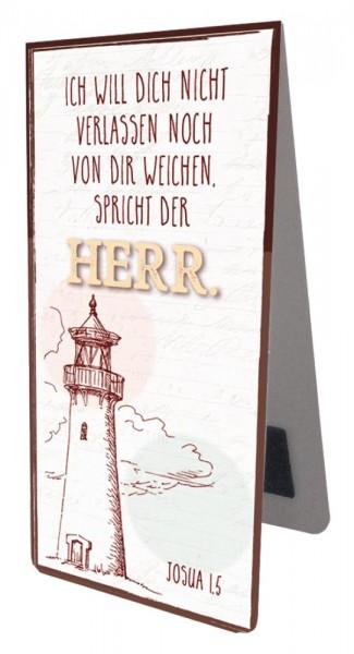 Magnetlesezeichen Vintage Leuchtturm