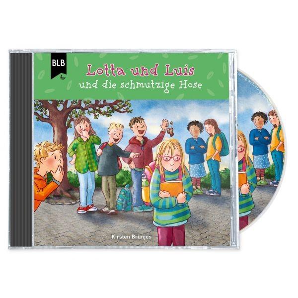 Lotta und Luis und die schmutzige Hose (Hörbuch-CD)