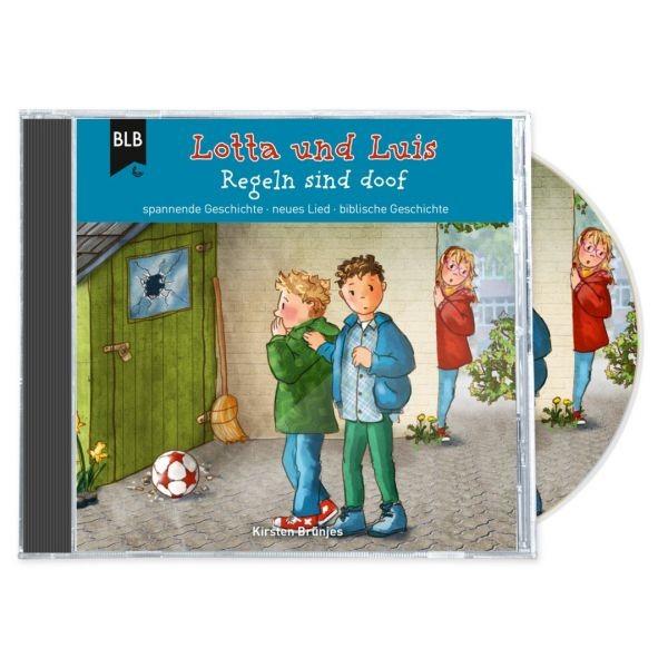 Lotta und Luis - Regeln sind doof (Hörbuch-CD)