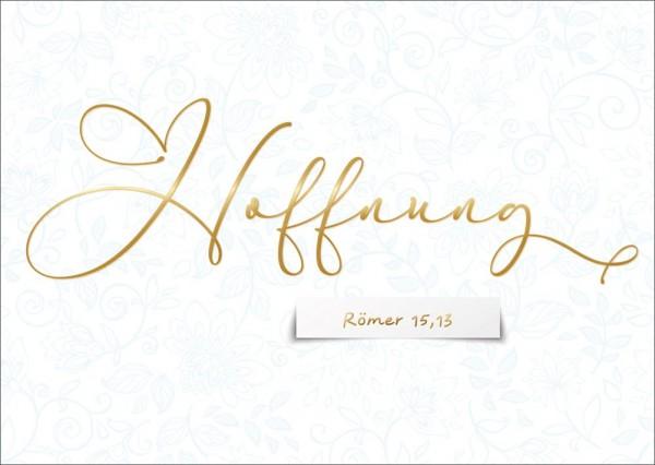Postkarte Hoffnung GF