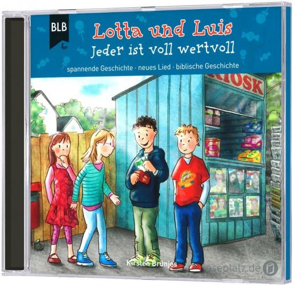 Lotta und Luis - Jeder ist wertvoll (Hörbuch-CD)