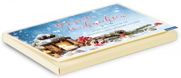 Postkartenbox Weihnachten