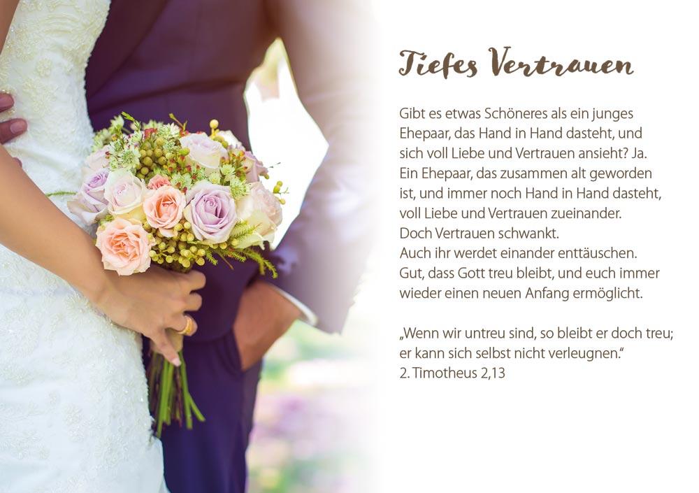 Segen Hochzeit