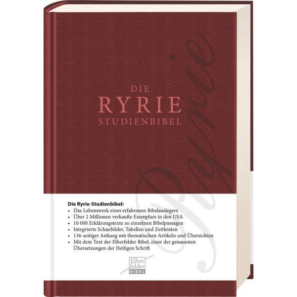 RYRIE-Studienbibel Elberfelder Text (Kunstleder)