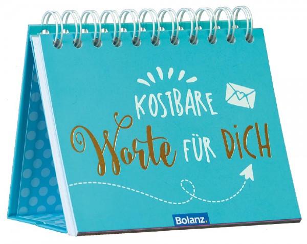 Postkartenaufstellbuch - Kostbare Worte für Dich