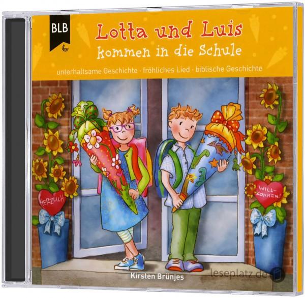 Lotta und Luis kommen in die Schule (Hörbuch-CD)