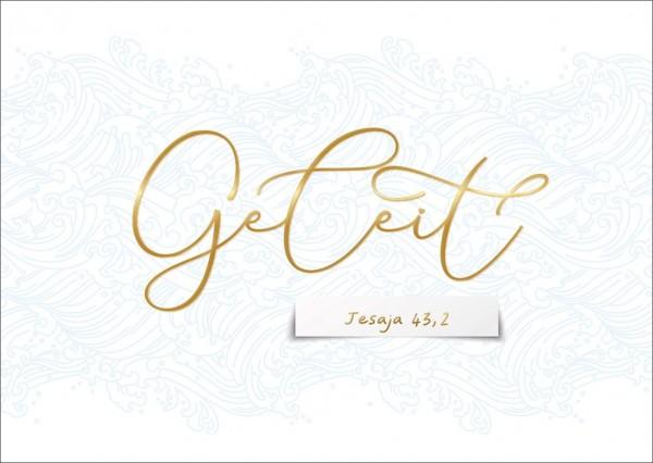 Postkarte Geleit GF