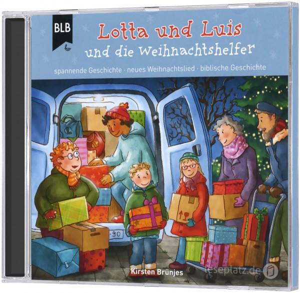 Lotta und Luis und die Weihnachtshelfer (Hörbuch-CD)