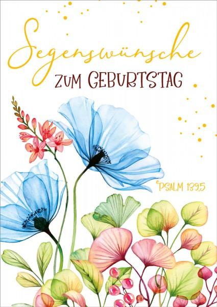 Postkarte Psalm 139,5 / Segenswünsche GF