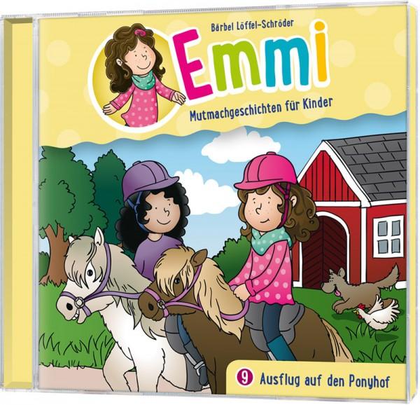 Emmi 9 - Ausflug auf den Ponyhof (Hörspiel-CD)
