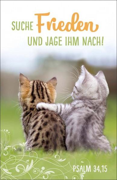 Postkarte Katzen JL 2019