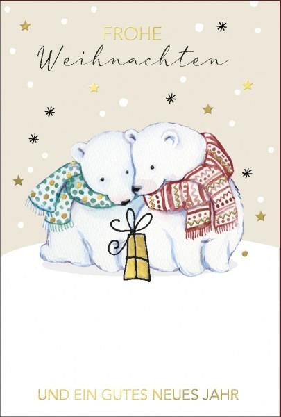 Doppelkarte Eisbären
