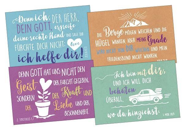 Minikarten Kostbare Worte