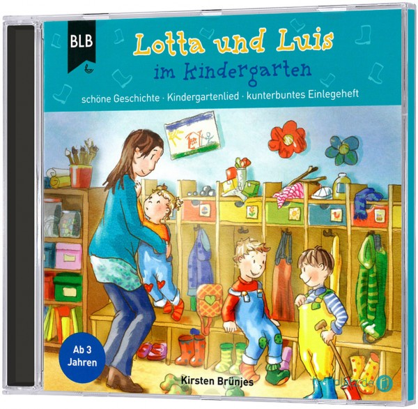 Lotta und Luis im Kindergarten (Hörbuch-CD)