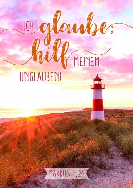 Poster Jahreslosung 2020 Leuchtturm