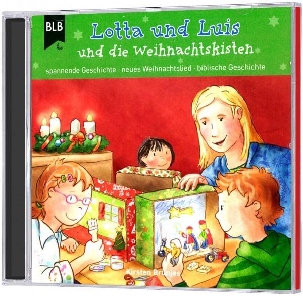 Lotta und Luis und die Weihnachtskisten (Hörbuch-CD)