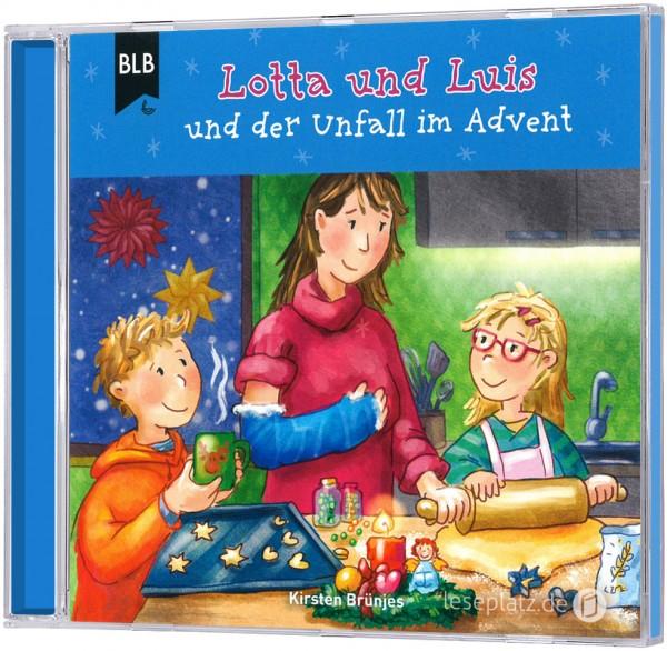 Lotta und Luis und der Unfall im Advent (Hörbuch-CD)