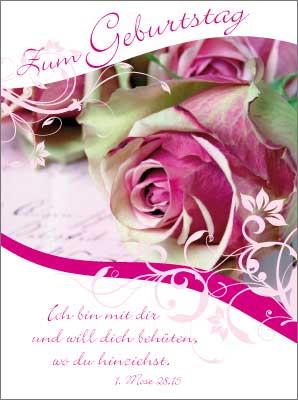 Minikarten Rose
