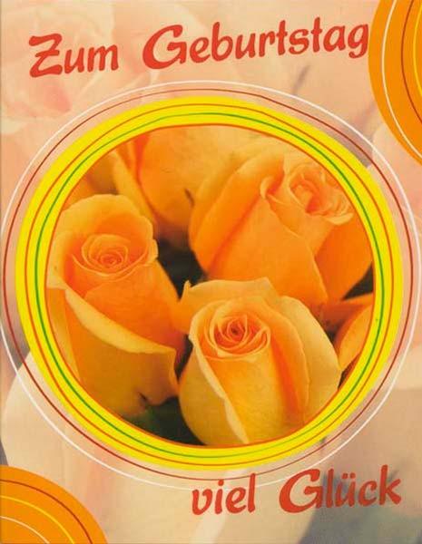 DK Mini Gelbe Rosen im Kreis