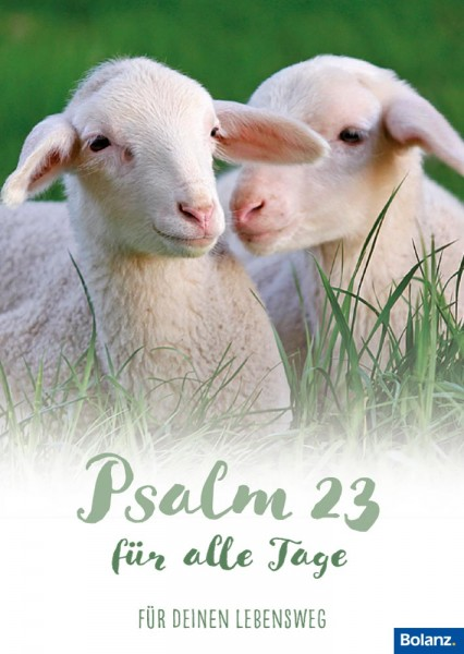 Grußheft Psalm 23