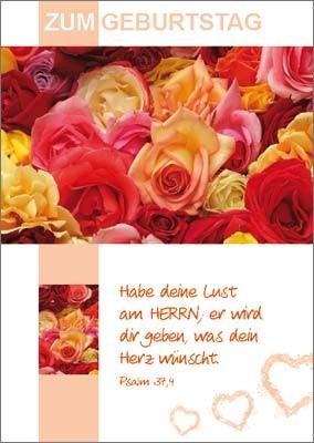 Minikarten bunte Rosen