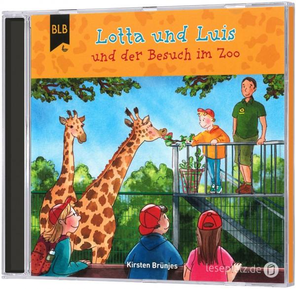 Lotta und Luis und der Besuch im Zoo - Hörbuch-CD