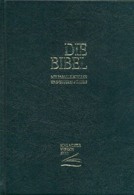 Schlachter 2000 - Standardausgabe schwarz Mit Parallelstellen und Studienführer