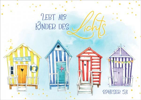Postkarte Kinder des Lichts GF