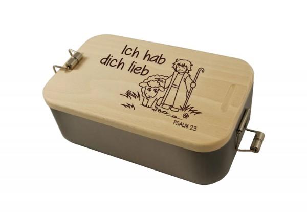 Lunchbox Schaf/Hirte Psalm 23