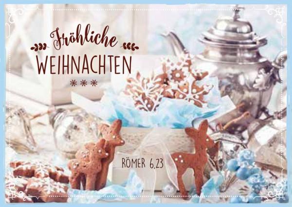 Postkarte Silberne Kanne